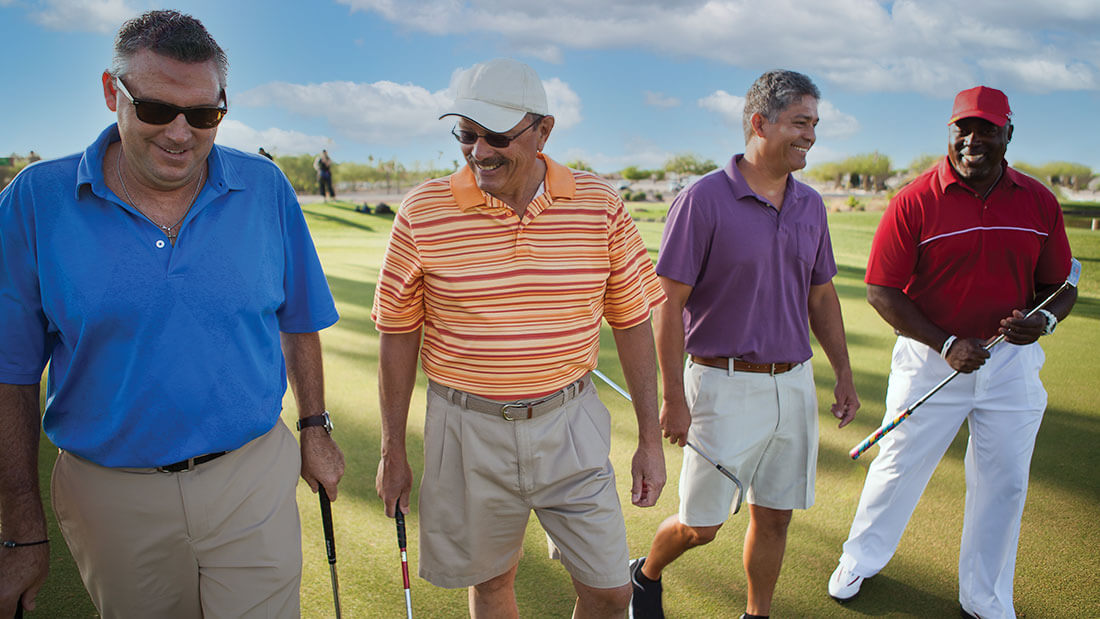 Golf resort community for active adults