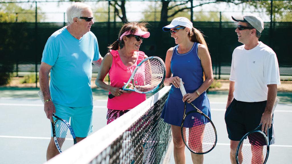 Retirement community living for 55 plus active adults