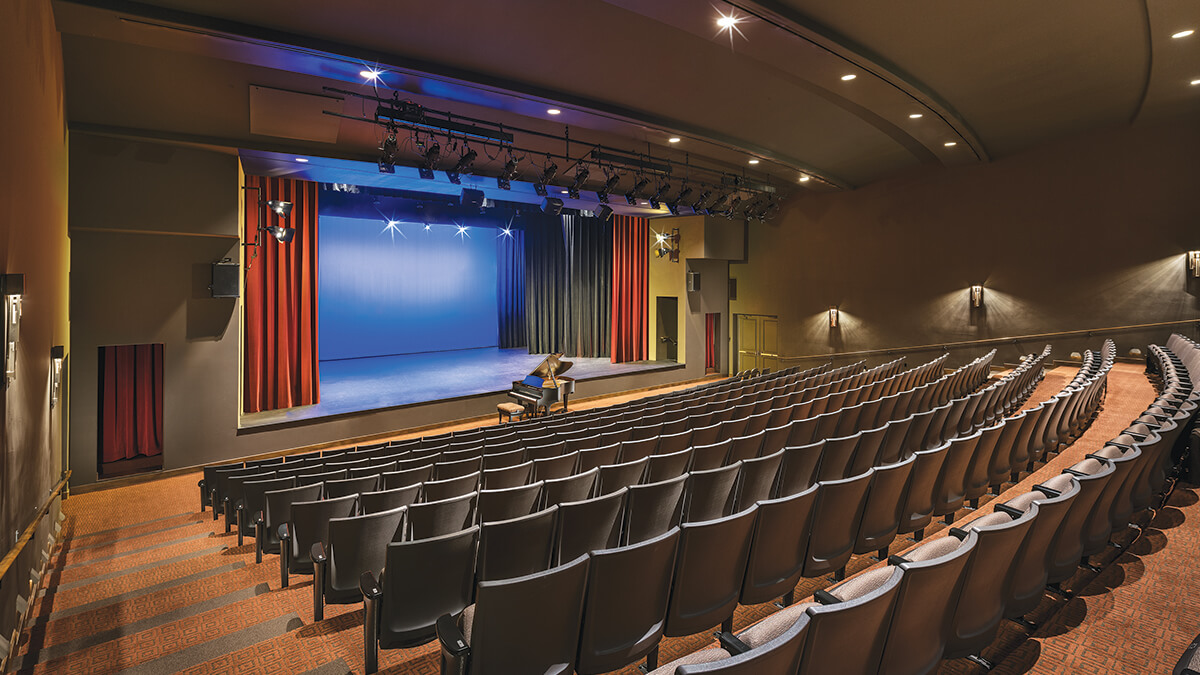 Performance Theater at PebbleCreek, Luxury Retirement Living for Active Adults