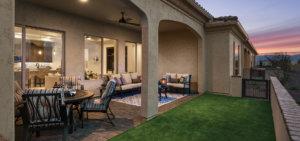 Napa Villa Patio at PebbleCreek, a 55+ Active Adult Community in Arizona