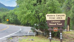 Madera Canyon Picnicking area in Green Valley area