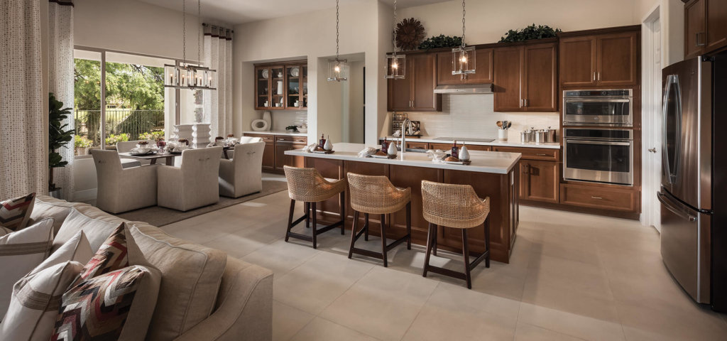 Mandara Model Kitchen at Quail Creek, an Active Adult Retirement Community near Tucson