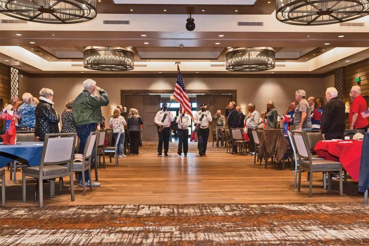 SaddleBrooke Ranch Veterans Club Opening Ceremony