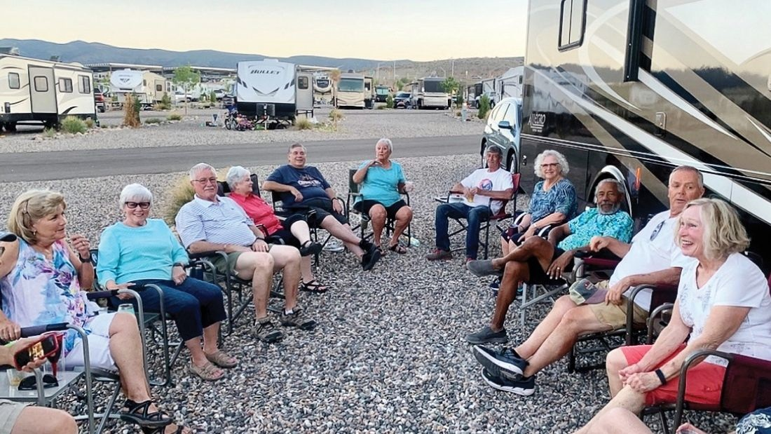 RV Club - Fun, active adult club at Quail Creek in Southern Arizona