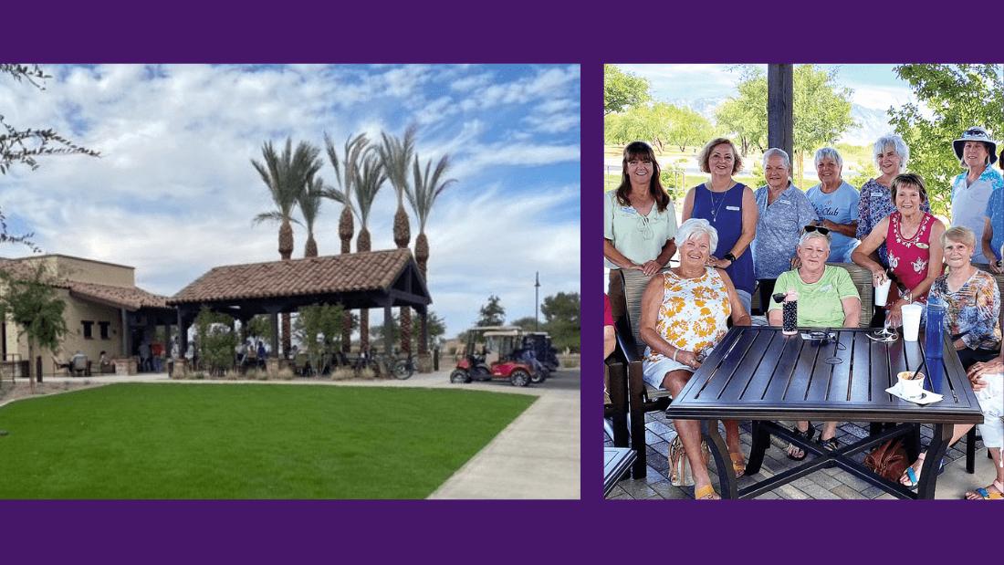 Fun retirement club at SaddleBrooke Ranch in North Tucson area.