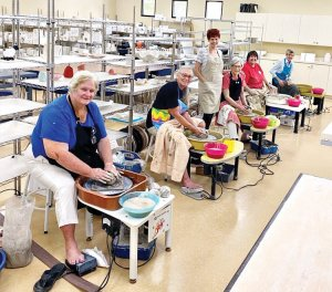 Robson Ranch Texas Pottery Activities for Seniors